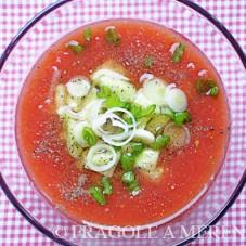 Crema fredda di pomodori (gazpacho)