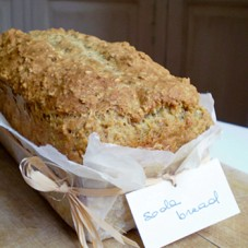 Soda bread all'avena