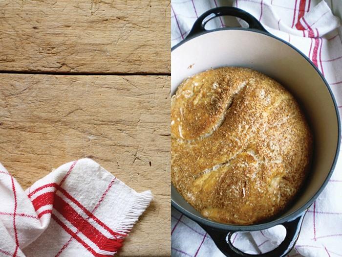 Pane senza impasto, dalla cucina di FRAGOLE A MERENDA