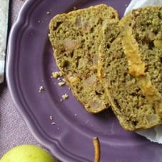 Cake al radicchio, pere e noci