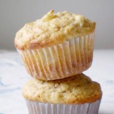 Muffins alle pere e noci