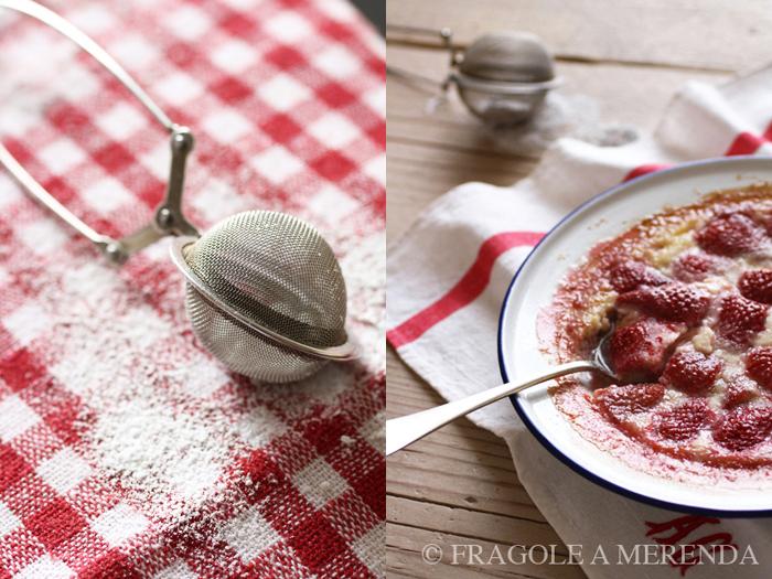 Clafoutis di fragole