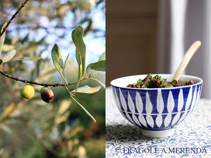 Tapenade di olive nere e fichi secchi