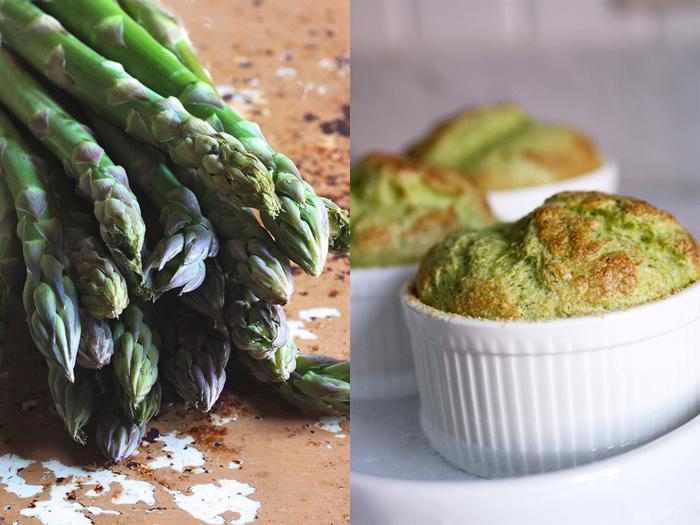 Il soufflŽe di asparagi che non si smonta