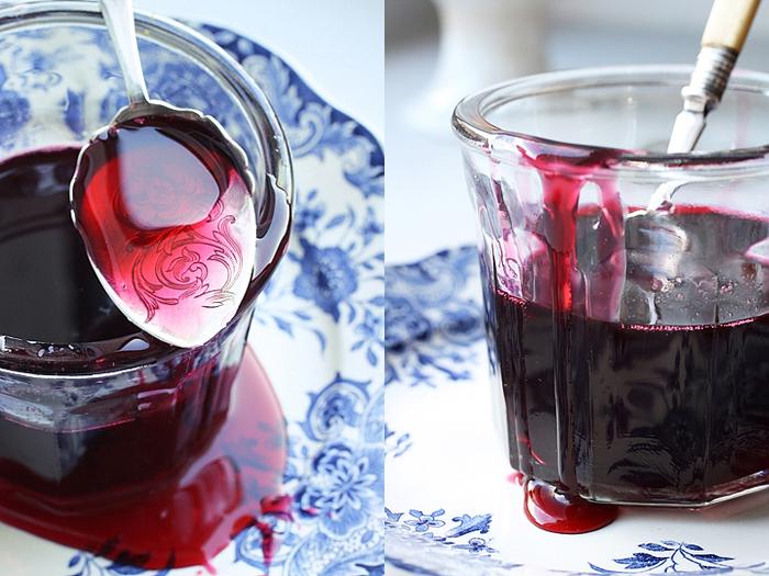gelatina di melagrana