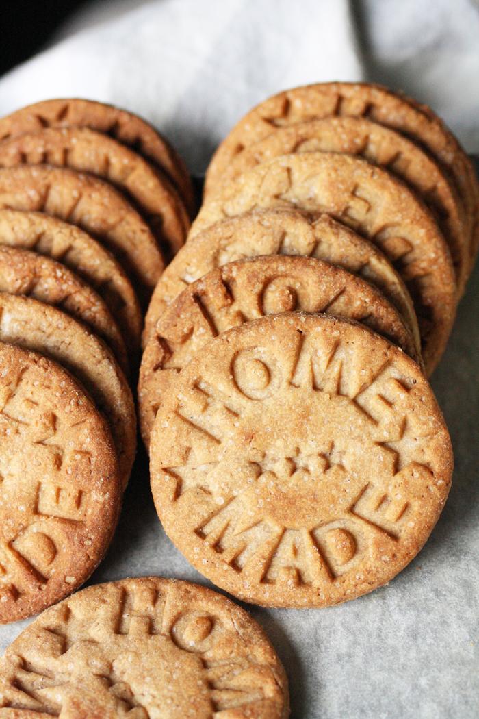 Biscotti integrali alle castagne