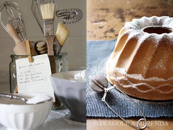 Biscotto di Savoia: una torta senza burro...
