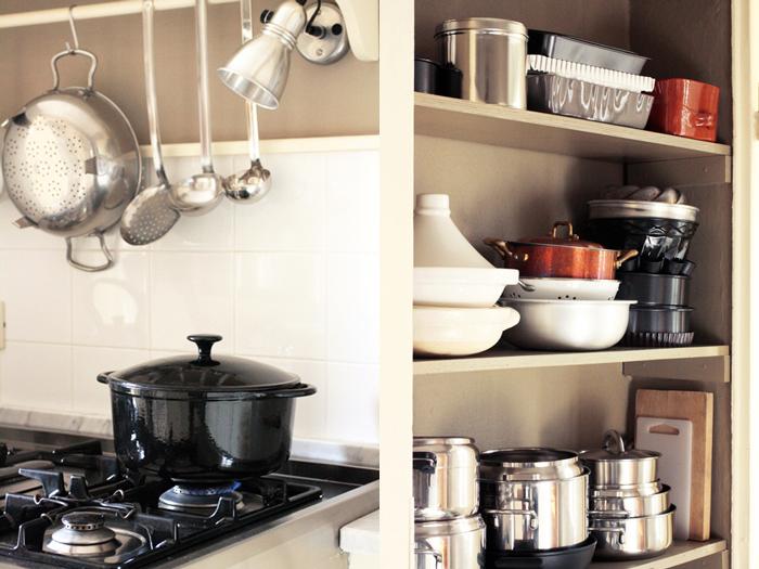 La cucina di Fragole a Merenda