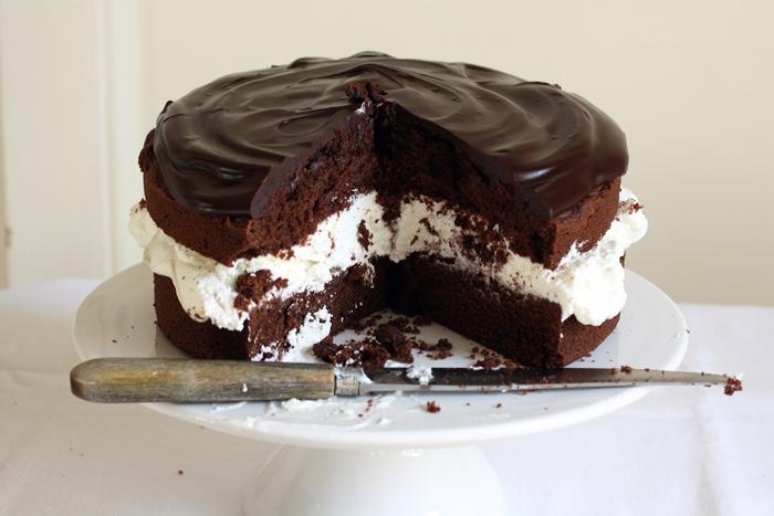 Gino's cake: torta di compleanno al cioccolato