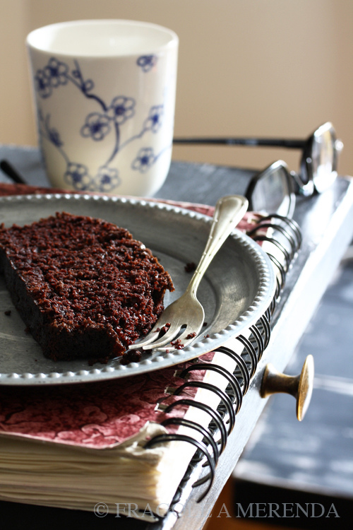 Populaire La torta al cioccolato senza burro - Fragole a merenda Fragole a  GC69