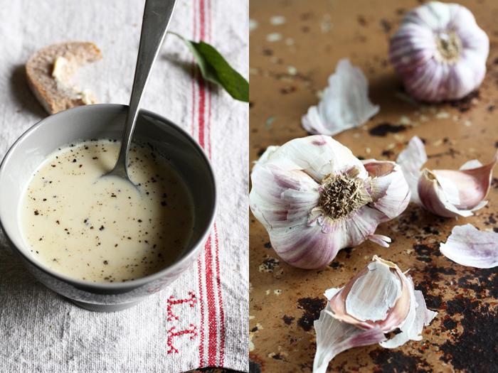 vellutata d'aglio