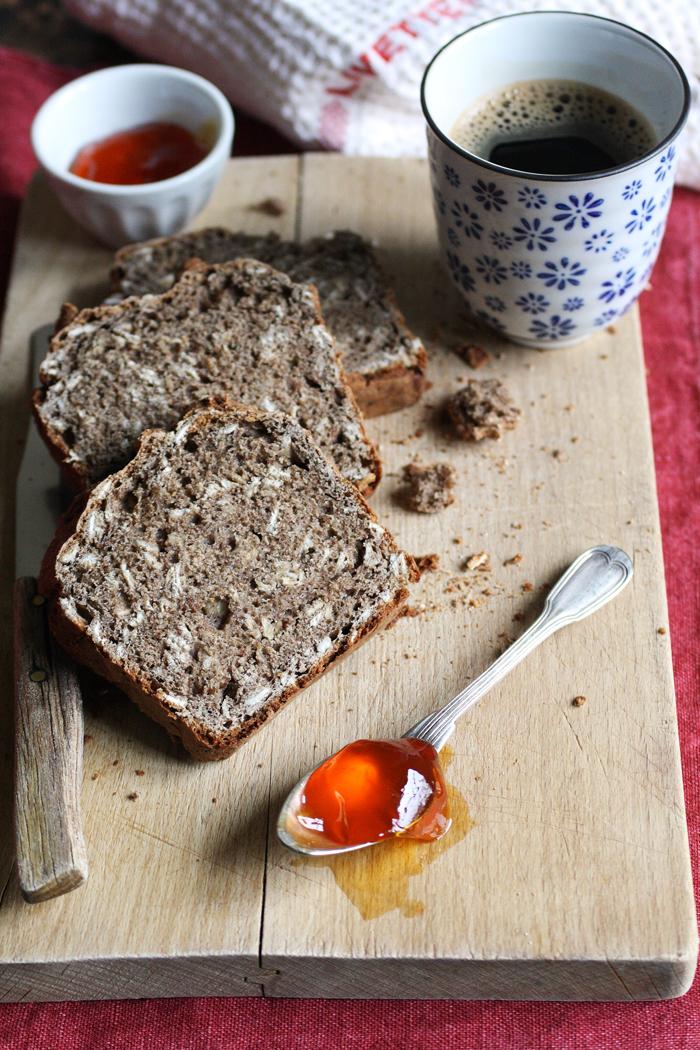 Soda bread con farina di lino, by FRAGOLE A MERENDA
