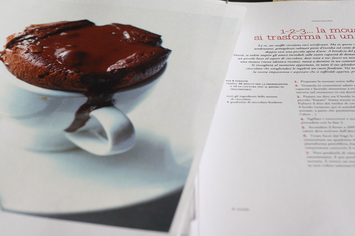 Fragole a merenda: il libro  (souffle di cioccolato)