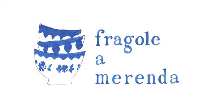 Un nuovo logo per FRAGOLE A MERENDA