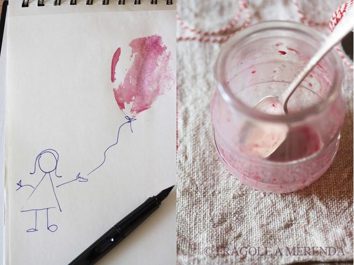 Riso al latte e rape rosse (una ricetta di FRAGOLE A MERENDA)