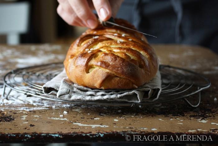 Brioche al provolone e zucchine di FRAGOLE A MERENDA