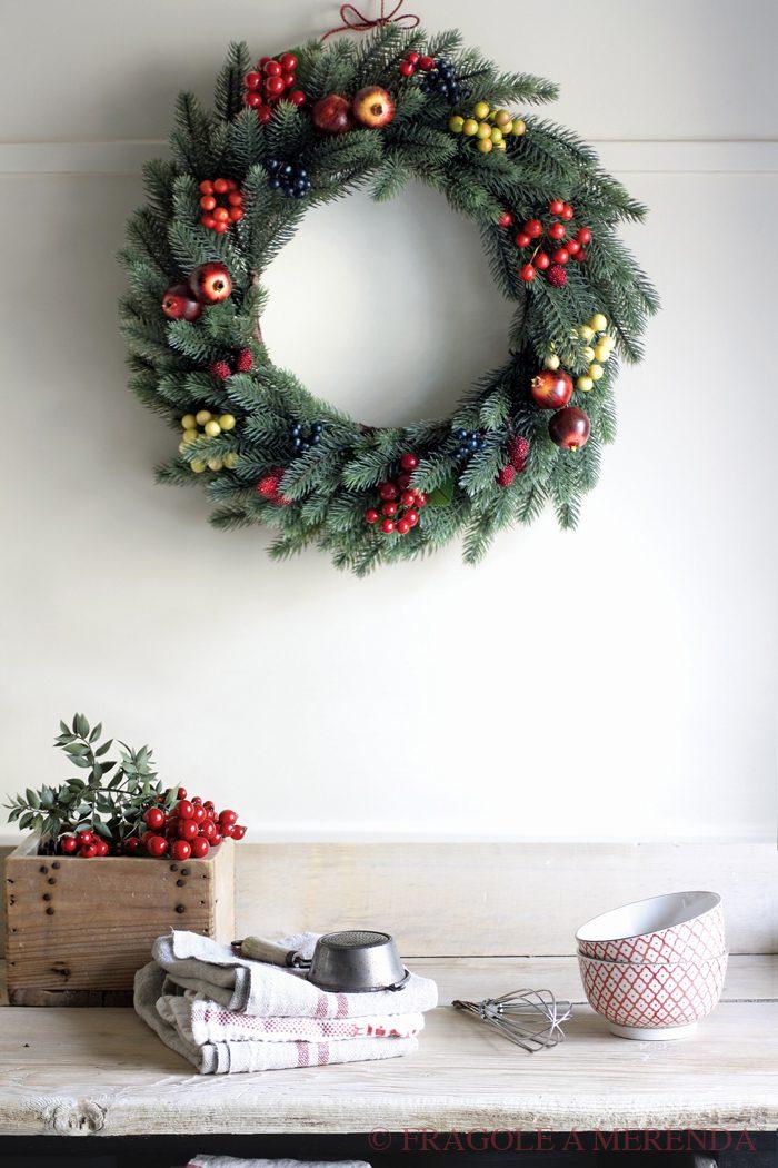 Finalmente Natale!: una ghirlanda in cucina